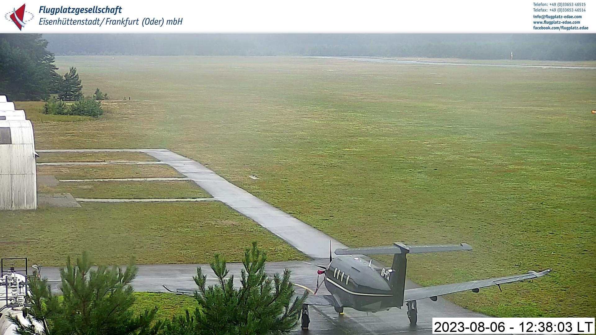 Siehdichum – Flugplatz Eisenhüttenstadt Webcam Live